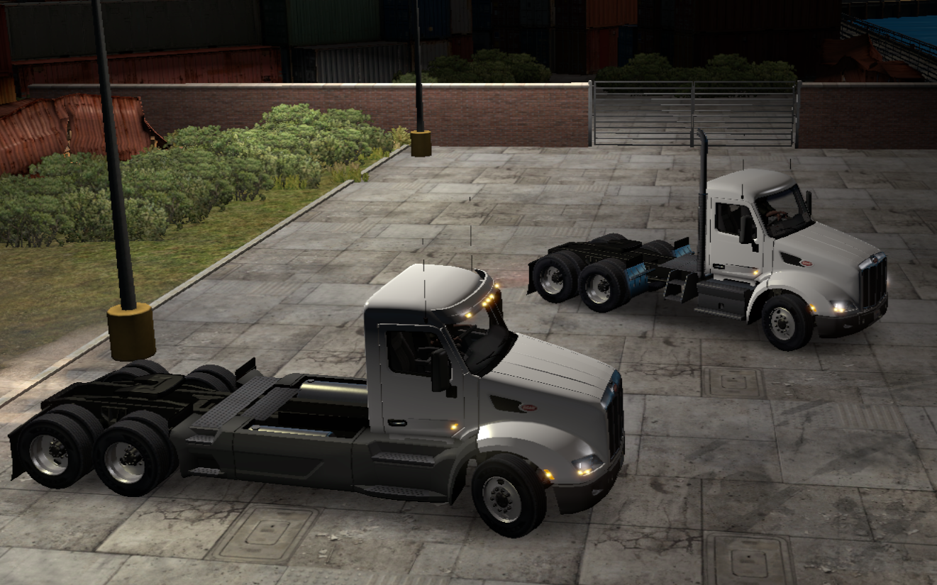 Duty Day Cabin on Long Chassis — ATS MP Mods