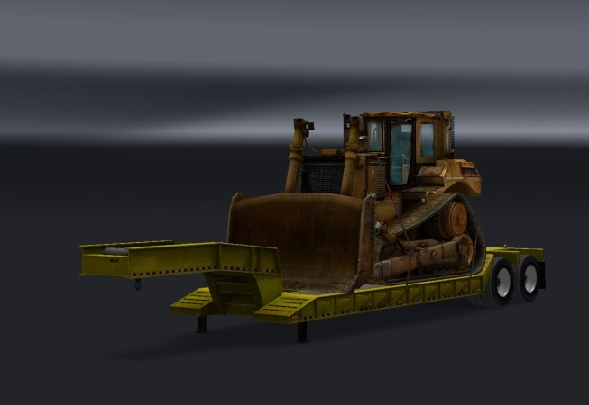 Lowboy Bulldozer — ATS MP Mods